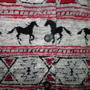 Woolrich Jackets & Coats - Woolrich Fleece Jacket Women M  Horse Southwest